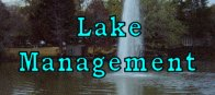 Lake Management Dallas Fort Worth TX